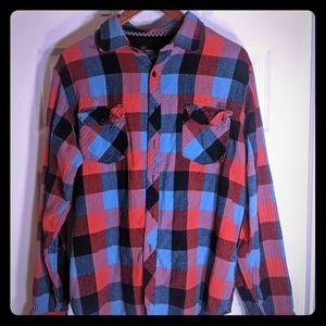 Large Fox Flannel shirt